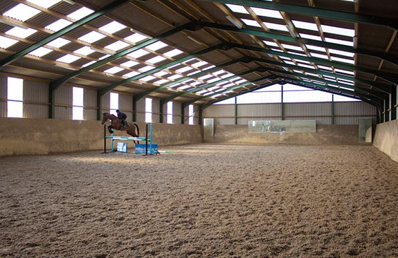 Indoor Arena Vale Hollow Farm Livery